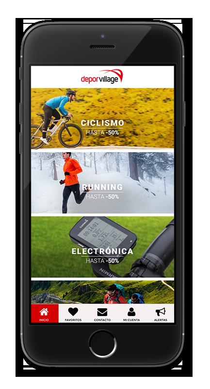 Deporvillage ya dispone de su App creada con Reskyt.