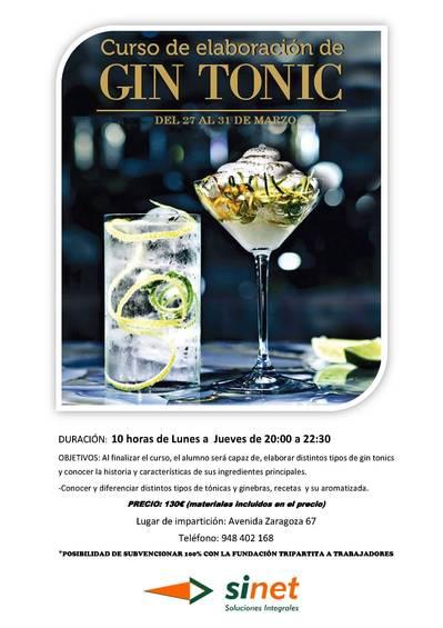 Curso de Gin Tonic