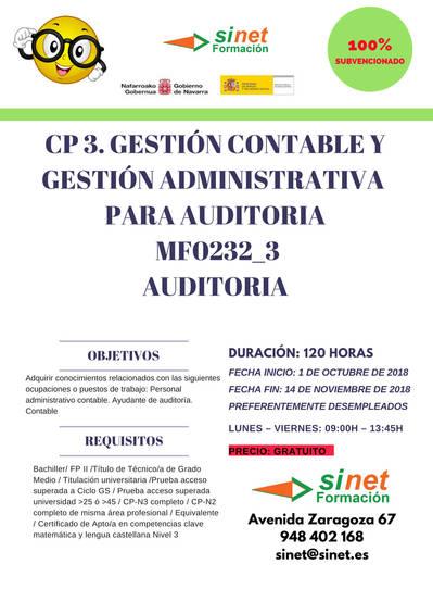 MÓDULO CERTIFICADO DE PROFESIONALIDAD MF0232_3