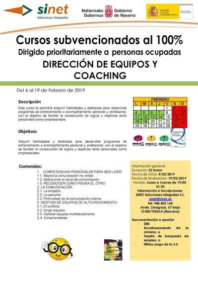 DIRECCION DE EQUIPOS Y COACHING