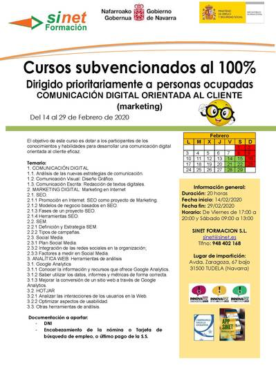COMUNICACIÓN DIGITAL ORIENTADA AL CLIENTE (MARKETING)