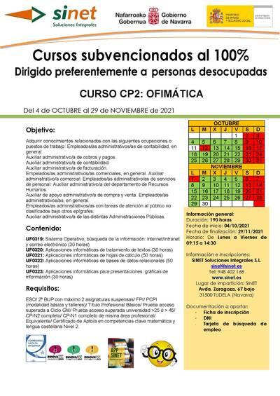 CP2: CURSO DE OFIMÁTICA