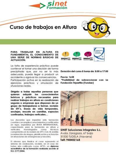 CURSO DE ALTURA