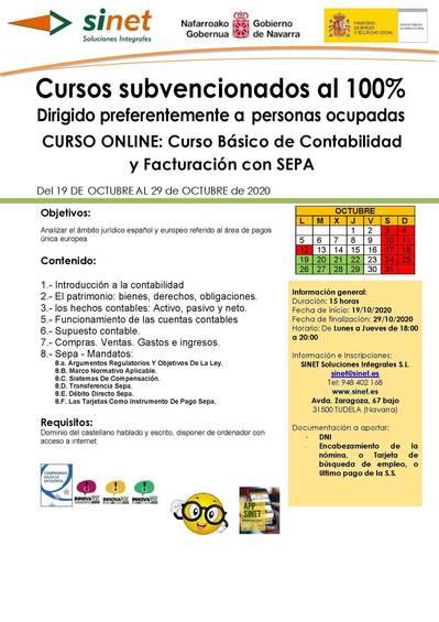 Curso de contabilidad básica con SEPA