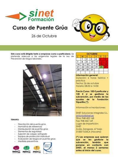 CURSO DE PUENTE GRUA