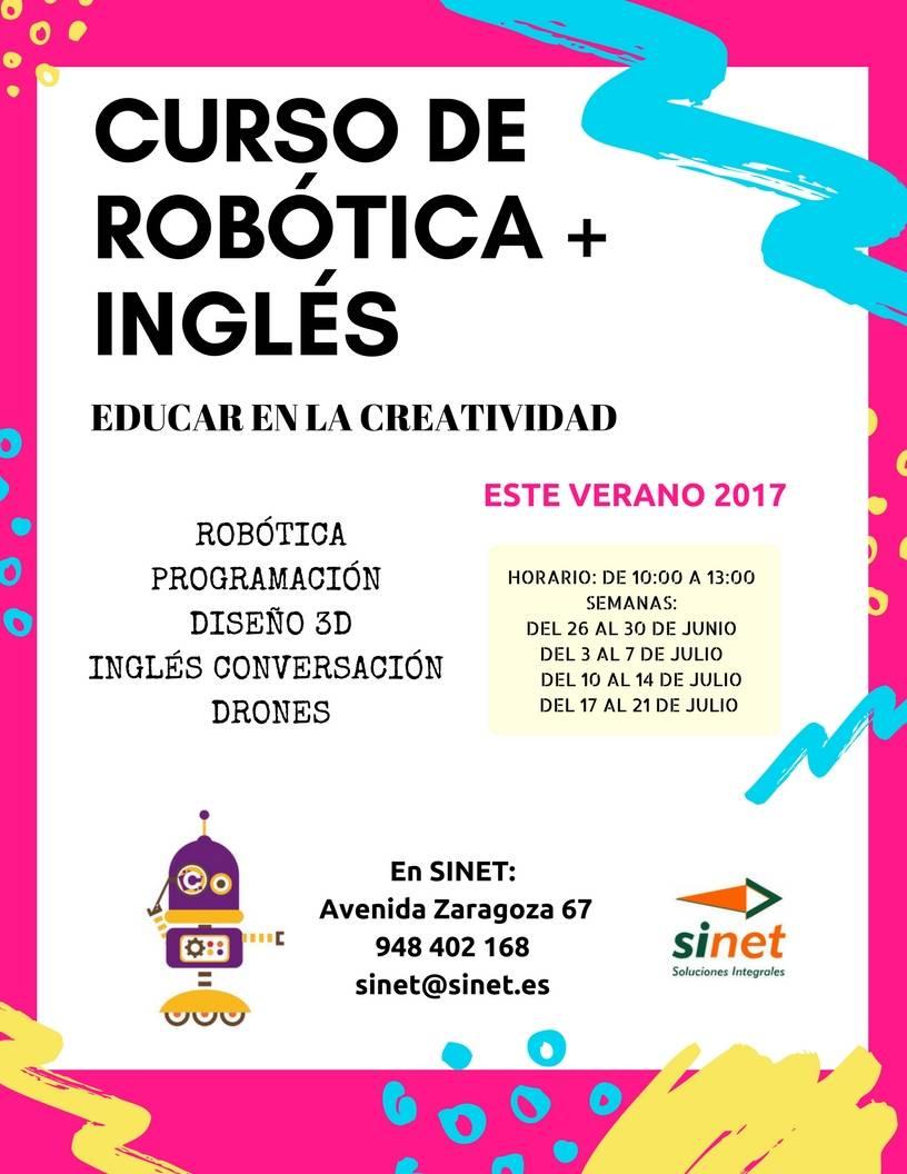 Curso de róbotica en Tudela