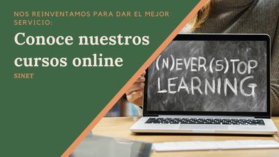 Cursos online y Presenciales