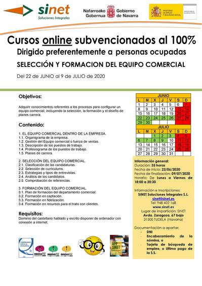 SELECCIÓN Y FORMACION DEL EQUIPO COMERCIAL