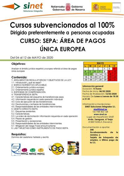 SEPA: ÁREA DE PAGOS ÚNICA EUROPEA