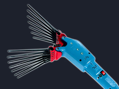 Recogedor aceitunas eléctrico OLIVECO