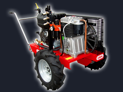 Compresor poda Autopropulsado diesel
