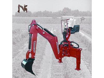 Retroexcabadora al hidràulic del tractor