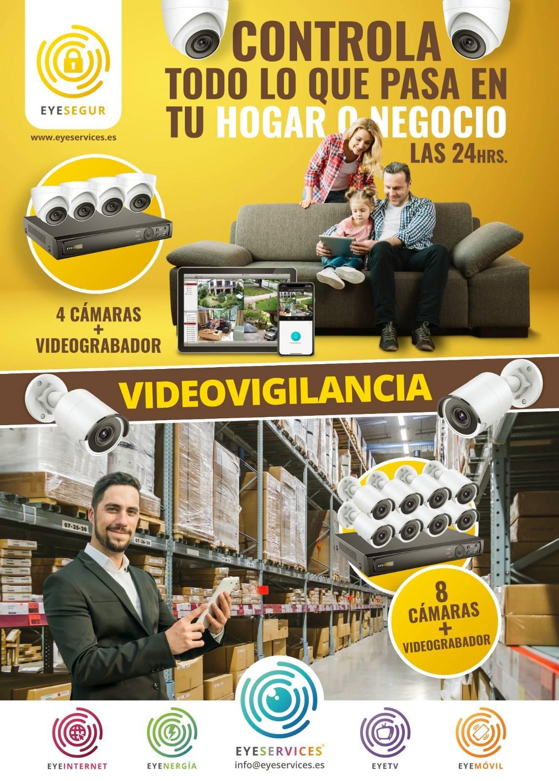 Videovigilancia, Controla todo lo que pasa en tu negocio o hogar