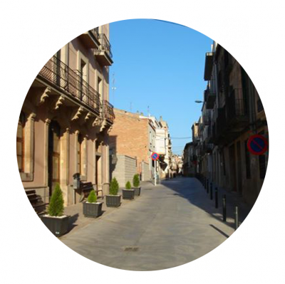 Finalitzades les obres del Carrer Sant Josep de El Palau d'Anglesola