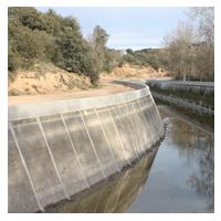 Garrofé SAU ejecuta las obras de Recrecimiento del Canal Principal de Urgell en el TM de Agramunt.