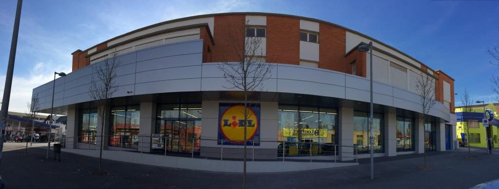 Reforma local comercial para supermercado lidl t rrega - Reforma local comercial ...