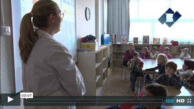 """La escuela La Noguera realiza el taller """"Cuidamos la sonrisa"""" con la Clínica Dental Balaguer"""