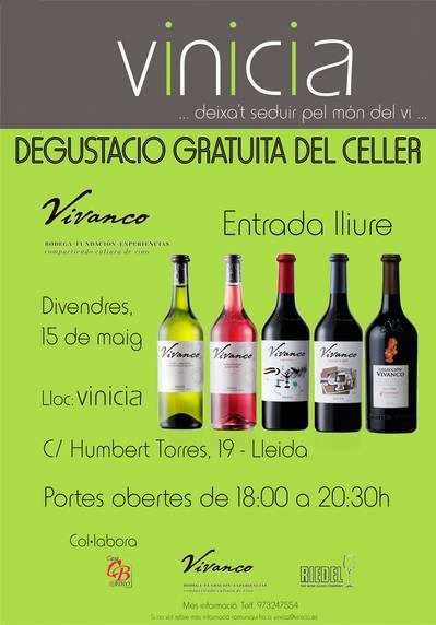 """Degustació gratuïta del Celler """"Vivanco Cultura del Vino"""""""