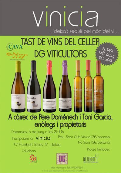 Tast del Celler D.G. Viticultors