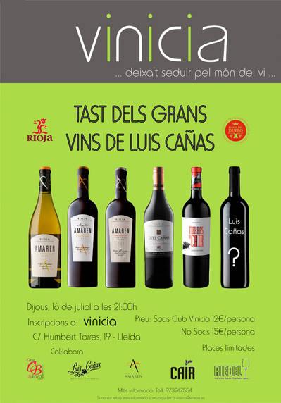 Tast dels Grans Vins de Luis Cañas