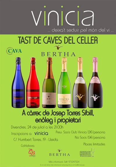 Tast de Caves del Celler Bertha