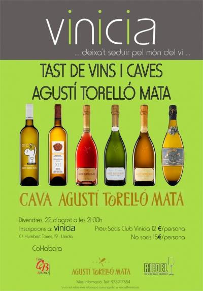 Tast de vins i caves Agustí Torelló Mata