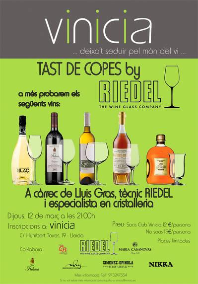 Tast de Copes by Riedel