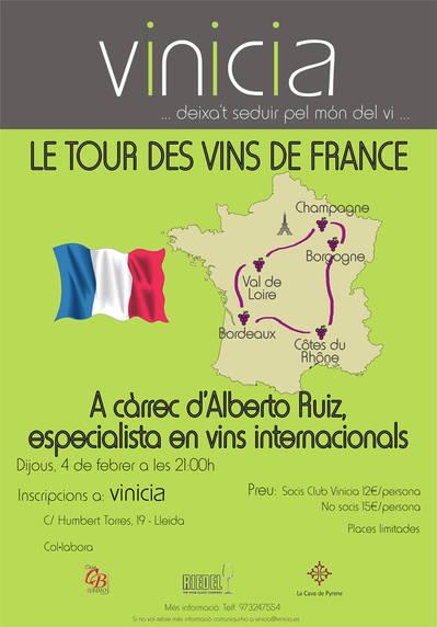 Le Tour des Vins de France