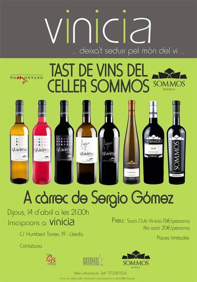Tast de vins del Celler Sommos
