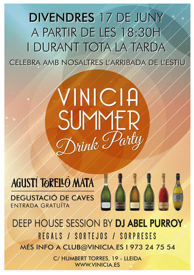VINICIA SUMMER DRINK PARTY