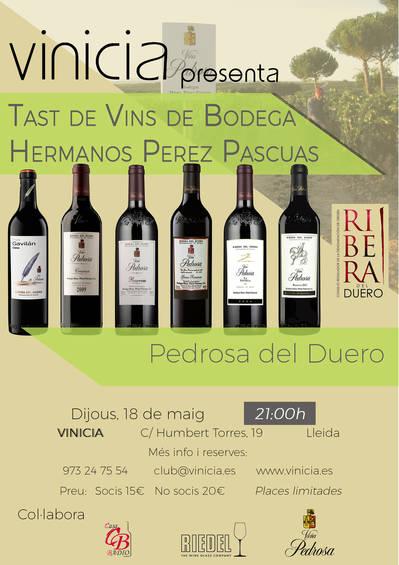 Tast de Vins de Bodega Hermanos Perez Pascuas