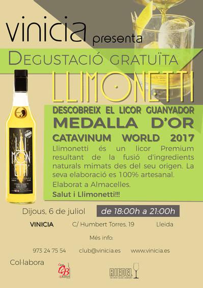 Degustació gratuïta Llimonetti