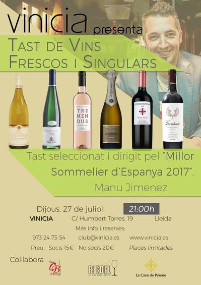 Tast de Vins Frescos i Singulars
