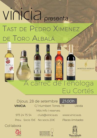 Tast de Pedro Ximenez de Toro Albalá