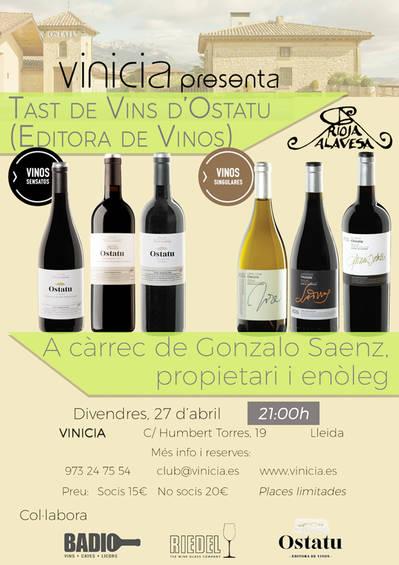 Tast del vins d'Ostatu (Editora de Vinos)