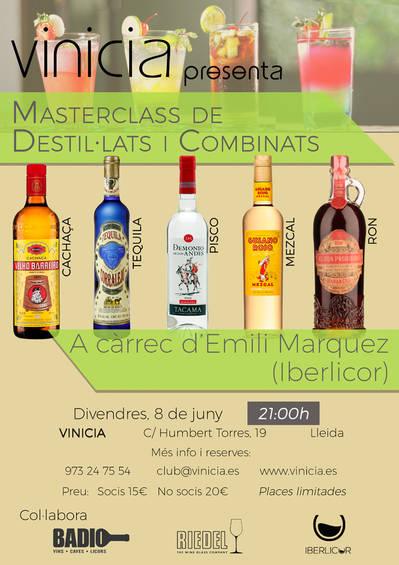 Masterclass de destil·lats i combinats