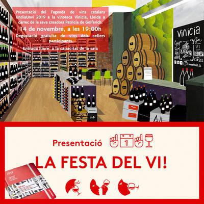 Presentació de l'agenda de vins catalans UndiaUnvi