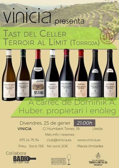 Tast de vins del Celler Terroir al Límit