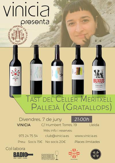 Tast del Celler Meritxell Pallejà (Gratallops)