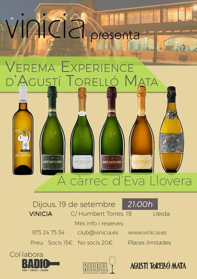 Verema Experience d'Agustí Torelló Mata