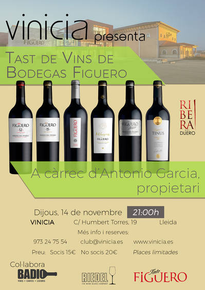 Tast de Vins de Bodegas Figuero