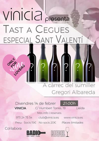 Tast a cegues especial Sant Valentí
