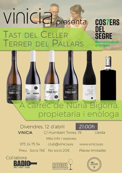 Tast de vins de Terrer del Pallars