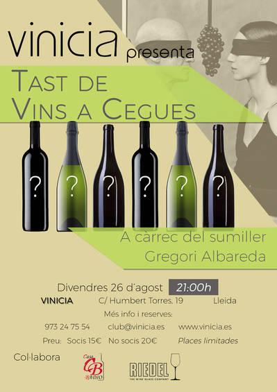 Tast de vins a Cegues