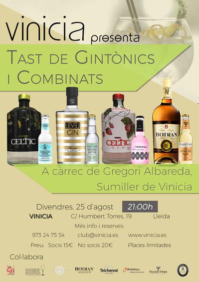 Tast de Gintònics i Combinats