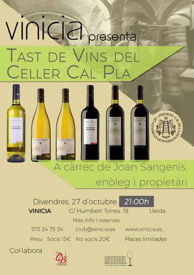 Tast de vins del Celler Cal Pla, Porrera