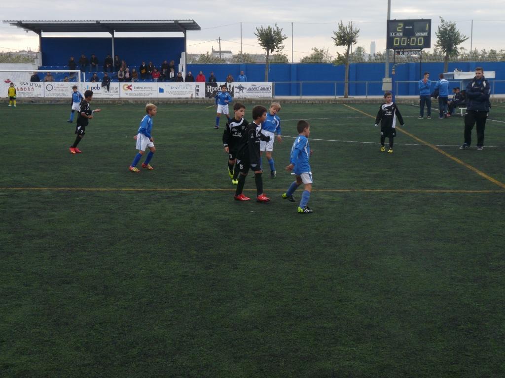 Benjamín C 5-0 Mollerussa