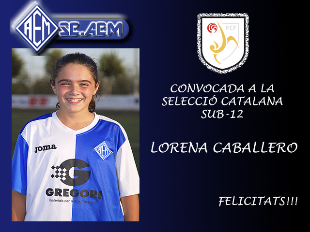 Announcement of Selection Catalan sub-12
