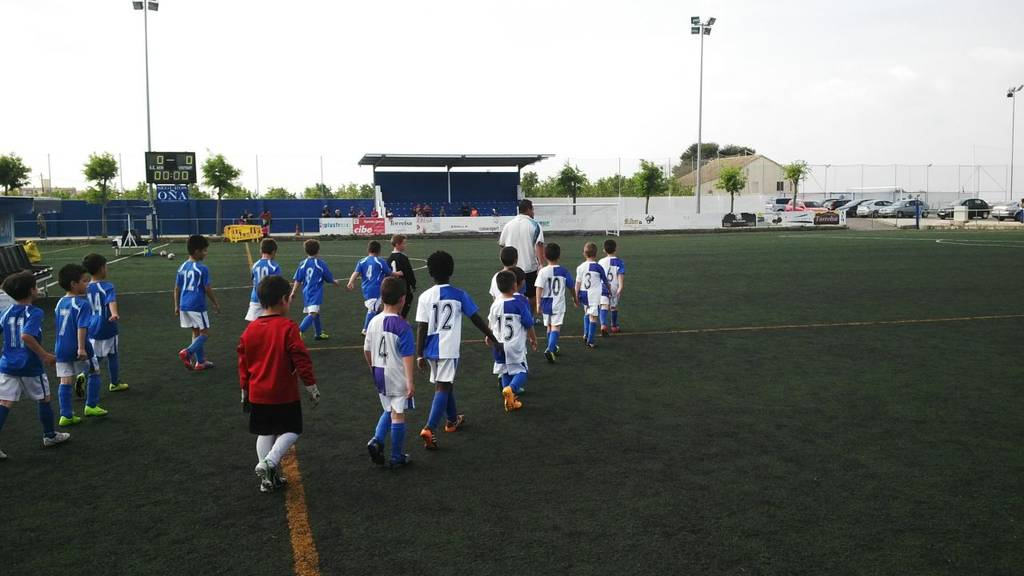 Friendly game between Prebenjamín C and A Baby's