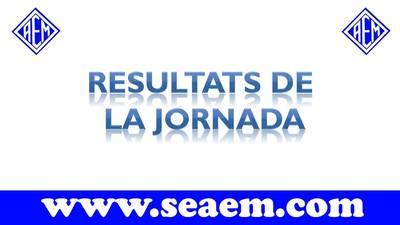 Resultats 14 i 15 d'Octubre